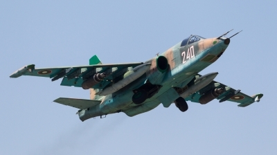 Photo ID 167976 by Andreas Zeitler - Flying-Wings. Bulgaria Air Force Sukhoi Su 25K, 240