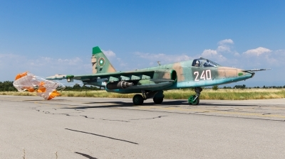 Photo ID 167992 by Andreas Zeitler - Flying-Wings. Bulgaria Air Force Sukhoi Su 25K, 240