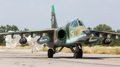 Photo ID 167993 by Andreas Zeitler - Flying-Wings. Bulgaria Air Force Sukhoi Su 25K, 254