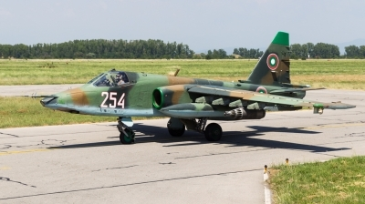 Photo ID 167979 by Andreas Zeitler - Flying-Wings. Bulgaria Air Force Sukhoi Su 25K, 254