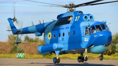 Photo ID 168034 by Stephan Franke - Fighter-Wings. Ukraine Navy Mil Mi 14PL, 37 YELLOW