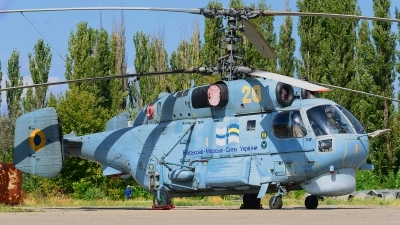 Photo ID 168037 by Stephan Franke - Fighter-Wings. Ukraine Navy Kamov Ka 27PL, 20 YELLOW