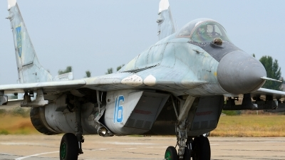 Photo ID 168041 by Stephan Franke - Fighter-Wings. Ukraine Air Force Mikoyan Gurevich MiG 29 9 13, 16 BLUE