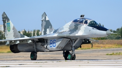 Photo ID 168047 by Stephan Franke - Fighter-Wings. Ukraine Air Force Mikoyan Gurevich MiG 29UBM2 9 51, 86 BLUE