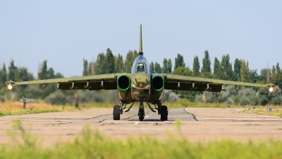 Photo ID 168044 by Stephan Franke - Fighter-Wings. Ukraine Air Force Sukhoi Su 25UB, 65 BLUE