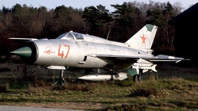 Photo ID 168245 by Carl Brent. Russia Air Force Mikoyan Gurevich MiG 21PFM, 47 RED