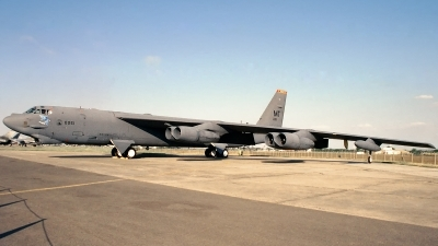 Photo ID 168327 by Sven Zimmermann. USA Air Force Boeing B 52H Stratofortress, 60 0051
