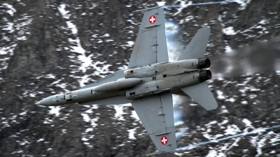 Photo ID 168366 by Agata Maria Weksej. Switzerland Air Force McDonnell Douglas F A 18C Hornet, J 5003