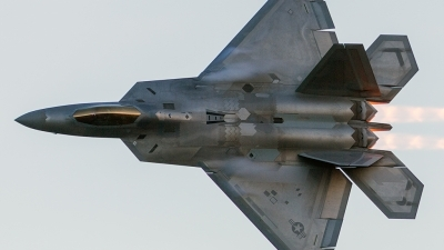 Photo ID 168727 by Jaysen F. Snow - Midwest Tail Chasers. USA Air Force Lockheed Martin F 22A Raptor, 07 4137