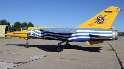 Photo ID 168636 by Stamatis Alipasalis. Greece Air Force Dassault Mirage F1CG, 115