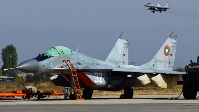 Photo ID 168767 by Lukas Kinneswenger. Bulgaria Air Force Mikoyan Gurevich MiG 29A 9 12A, 32