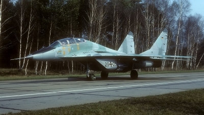 Photo ID 168844 by Rainer Mueller. Germany Air Force Mikoyan Gurevich MiG 29GT 9 51, 29 25