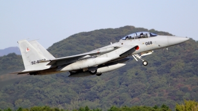 Photo ID 168888 by Shun Aso. Japan Air Force McDonnell Douglas F 15DJ Eagle, 92 8068
