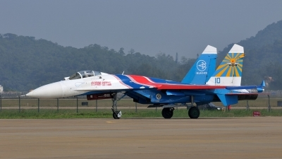 Photo ID 168893 by Peter Terlouw. Russia Air Force Sukhoi Su 27S, 10 BLUE