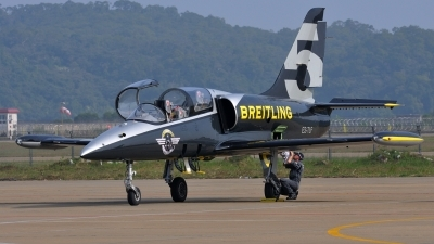 Photo ID 168933 by Peter Terlouw. Private Breitling Jet Team Aero L 39C Albatros, ES TLF