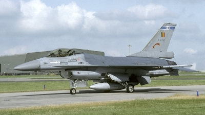 Photo ID 168956 by Joop de Groot. Belgium Air Force General Dynamics F 16A Fighting Falcon, FA 132