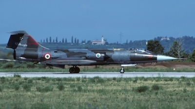 Photo ID 168996 by Sergio Gava. Italy Air Force Lockheed F 104G Starfighter, MM6522