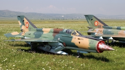Photo ID 20728 by Chris Lofting. Romania Air Force Mikoyan Gurevich MiG 21M Lancer A, 211