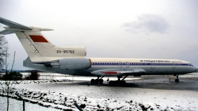 Photo ID 169121 by Sven Zimmermann. Kyrgyzstan Government Tupolev Tu 154M, EX 85762