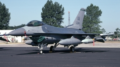 Photo ID 169123 by Tom Gibbons. USA Air Force General Dynamics F 16C Fighting Falcon, 89 2044