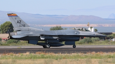 Photo ID 169132 by Ian Nightingale. USA Air Force General Dynamics F 16C Fighting Falcon, 90 0715