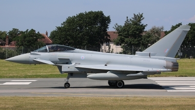 Photo ID 169177 by Ian Nightingale. UK Air Force Eurofighter Typhoon FGR4, ZK355