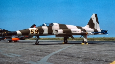 Photo ID 169223 by Alex Staruszkiewicz. USA Air Force Northrop F 5E Tiger II, 74 1559