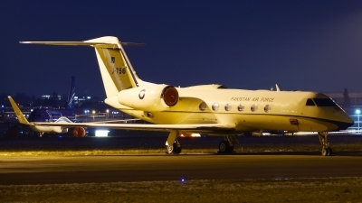 Photo ID 169292 by Lukas Kinneswenger. Pakistan Air Force Gulfstream Aerospace G 450 G IV SP, J 756