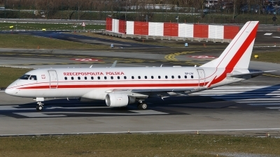Photo ID 169278 by Lukas Kinneswenger. Poland Government Embraer ERJ 170 200LR, SP LIH