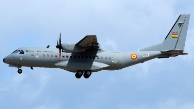 Photo ID 169398 by Alejandro Hernández León. Ghana Air Force CASA C 295M, GHF551