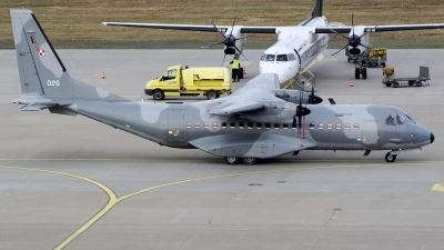 Photo ID 169406 by Günther Feniuk. Poland Air Force CASA C 295M, 026