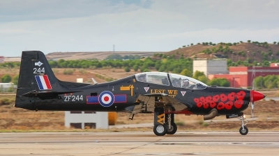 Photo ID 169558 by Filipe Barros. UK Air Force Short Tucano T1, ZF244