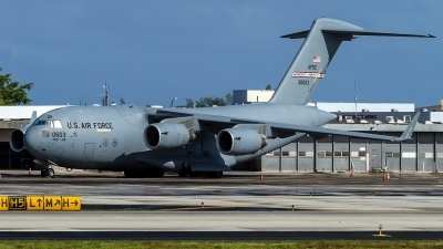 Photo ID 169610 by Hector Rivera - Puerto Rico Spotter. USA Air Force Boeing C 17A Globemaster III, 93 0603