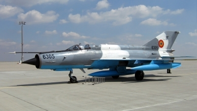 Photo ID 169683 by Frank Deutschland. Romania Air Force Mikoyan Gurevich MiG 21MF 75 Lancer C, 6305