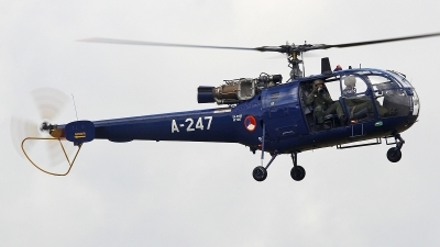 Photo ID 169690 by Ruben Galindo. Netherlands Air Force Aerospatiale SA 316B Alouette III, A 247