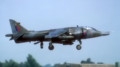 Photo ID 169712 by Rainer Mueller. UK Air Force Hawker Siddeley Harrier GR 3, XZ968