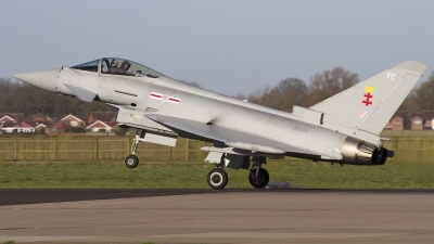 Photo ID 169778 by Chris Lofting. UK Air Force Eurofighter Typhoon FGR4, ZK335