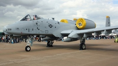 Photo ID 169796 by Arie van Groen. USA Air Force Fairchild OA 10A Thunderbolt II, 81 0991