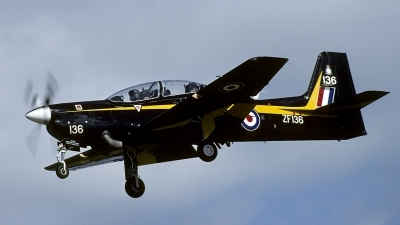 Photo ID 170038 by Joop de Groot. UK Air Force Short Tucano T1, ZF136