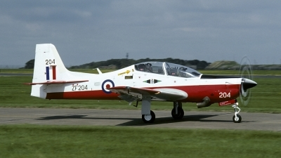 Photo ID 170041 by Joop de Groot. UK Air Force Short Tucano T1, ZF204