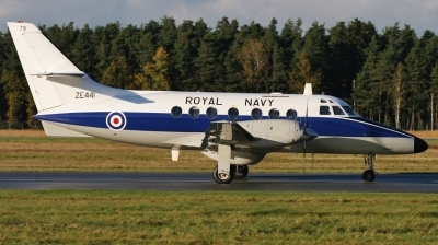 Photo ID 170092 by Daniel Thiel. UK Navy Scottish Aviation HP 137 Jetstream T3, ZE441