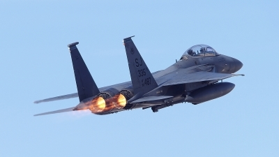 Photo ID 170495 by Peter Boschert. USA Air Force McDonnell Douglas F 15E Strike Eagle, 89 0487