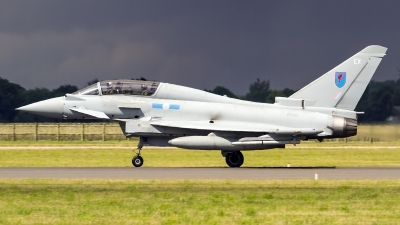 Photo ID 170765 by Craig Wise. UK Air Force Eurofighter Typhoon T3, ZK381