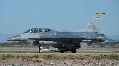 Photo ID 170950 by Peter Boschert. USA Air Force General Dynamics F 16D Fighting Falcon, 90 0778