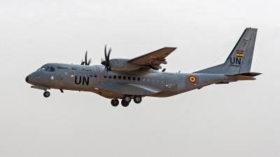 Photo ID 171329 by Jan Eenling. Ghana Air Force CASA C 295M, GHF550
