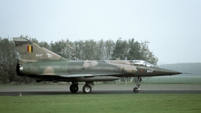 Photo ID 171327 by Joop de Groot. Belgium Air Force Dassault Mirage 5BA, BA57