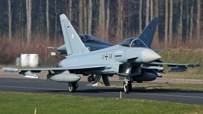 Photo ID 171473 by Richard de Groot. Germany Air Force Eurofighter EF 2000 Typhoon S, 31 38