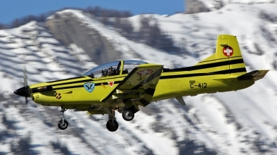 Photo ID 171542 by Isch Eduard. Switzerland Air Force Pilatus PC 9A, C 412