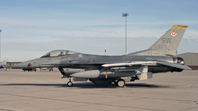 Photo ID 171602 by D. A. Geerts. USA Air Force General Dynamics F 16C Fighting Falcon, 00 0223