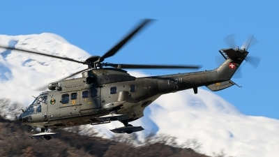 Photo ID 171658 by Ludwig Isch. Switzerland Air Force Aerospatiale AS 332M1 Super Puma, T 311
